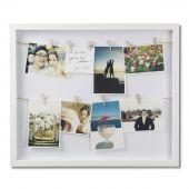 Umbra - Ramka na zdjęcia ze sznurkiem Biała CLOTHES LINE