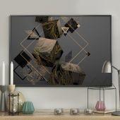 DecoKing - Plakat ścienny - Geometrical