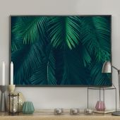DecoKing - Plakat ścienny - Palm Leaves