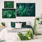 DecoKing - Zestaw plakatów ściennych - In Tropics
