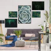 DecoKing - Zestaw plakatów ściennych - Plants