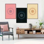 DecoKing - Zestaw plakatów ściennych - Hypnosis