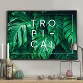 DecoKing - Plakat ścienny – Monstera - Tropical