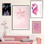 DecoKing - Zestaw plakatów ściennych - Pink