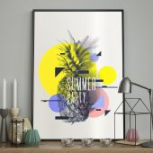 DecoKing - Plakat ścienny - Summer Party