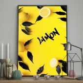 DecoKing - Plakat ścienny - Limon