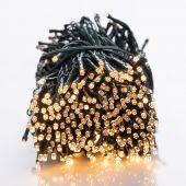DecoKing – Lampki choinkowe świetlne LED - Kryształy - Światło ciepłe białe, stałe, 1993 cm
