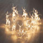 DecoKing - Dekoracyjne lampki RENIFERY