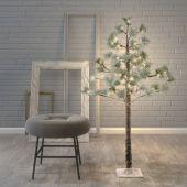 Dekoracyjne drzewko LED - Sosna śnieżna