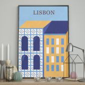 DecoKing - Plakat ścienny - Lisbon