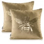 Poszewka ozdobna dekoracyjna Premium 2 szt. Złota Pszczoła BEE NANCY