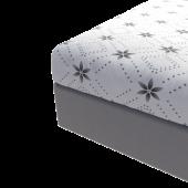 DecoKing – Prześcieradło Białe Hypnosis SNOWYNIGHT