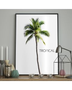 DecoKing – Plakat ścienny - Bermuda - Tropical