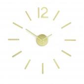 Umbra - Zegar ścienny Złoty BLINK