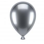 Umbra - Zestaw uchwytów na zdjęcia 3 szt. Srebrne Balony UP