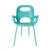 Umbra - Minimalistyczne Krzesło Turkusowe OH