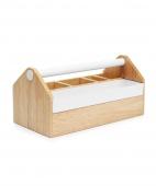 Umbra - Drewniane Pudełko na biżuterię Jasnobrązowe TOTO