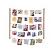 Umbra - Domowa galeria zdjęć DIY Naturalna HANG IT