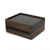 Umbra - Stylowe Pudełko na biżuterię Ciemnobrązowe STOWIT