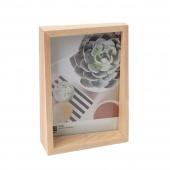 Umbra - Ramka na zdjęcia Naturalny Drewno 13x18 cm EDGE