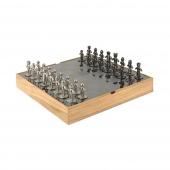 Umbra - Zestaw do gry w szachy Jasne Drewno BUDDY