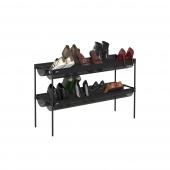 Umbra - Nowoczesna półka na buty Czarna SHOE SLING