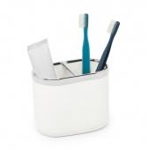 Umbra - Pojemnik na szczoteczki do zębów Biały JUNIP