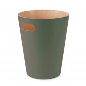 Umbra - Kosz na śmieci 7,5 L Oliwkowy WOODROW
