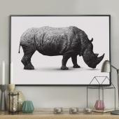 DecoKing - Plakat ścienny - Rhinoceros