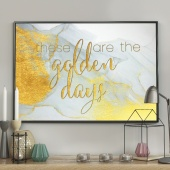 DecoKing - Plakat ścienny - Golden Days