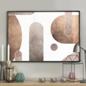 DecoKing - Plakat ścienny – Geometry Stones