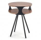 Designerski stolik kawowy do salonu Okrągły BRODI