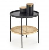 Dwustopniowy stolik kawowy do salonu Okrągły SONI