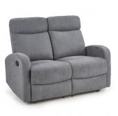 Rozkładana sofa do salonu Dwuosobowa Grafitowa GRIS