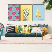 DecoKing - Zestaw plakatów ściennych - Fruits