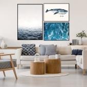 DecoKing - Zestaw plakatów ściennych - Ocean