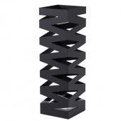 AmeliaHome - Minimalistyczny stojak na parasole Czarny INDUSTRIAL