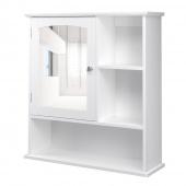 AmeliaHome – Szafka ścienna łazienkowa z półkami RETRO GLAM