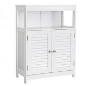 AmeliaHome - Minimalistyczna szafka łazienkowa Biała HAMPTON
