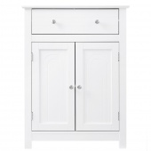 AmeliaHome - Stylowa szafka łazienkowa Biała ALTA