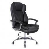 AmeliaHome - Krzesło biurowe Czarne SPECIALIST