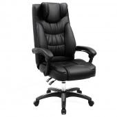 Krzesło biurowe obrotowe Czarne BOKLEY