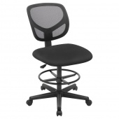 AmeliaHome - Krzesło biurowe Czarne OPTIMAL