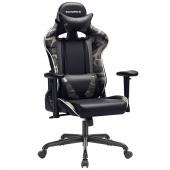 Profesjonalne krzesło do gier Camo Czarne ARMY