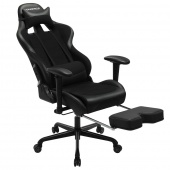 AmeliaHome - Profesjonalne krzesło do gier Czarne MASTER