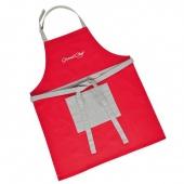 Fartuch kuchenny GrandCHEF - Czerwony