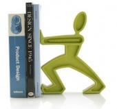 Podpórka do książek JAMES - Zielona