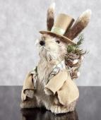 DecoKing - Zając Wielkanocny - W kapeluszu