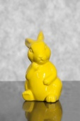 DecoKing - Zając Wielkanocny - Żółty
