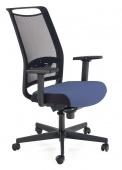 Krzesło biurowe Obrotowe Czarno Niebieskie AHAD